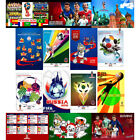RUSSIA 2018 FIFA WORLD CUP SOCCER SOUVENIRS POSTERS CHOOSE FROM 55 IMAGES