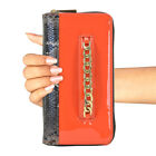 New Dasein Women Wallet Faux Leather Clutch Long Card Holder Phone Bag Case