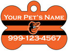 Baltimore Orioles Custom Pet Id Dog Tag Personalized w/ Name & Number