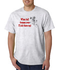 Gildan Short Sleeve T-shirt When Hell Freezes Over I'll Ski There Too Skiing
