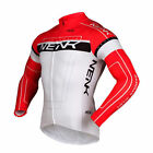 SOBIKE NENK Long Sleeve Cycling Jerseys Bike Bicycle Riding Jerseys Cooree Red