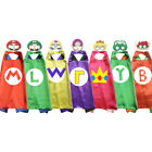 Boy Costumes Kids Superhero Capes with Masks Fancy Halloween Party Cosplay Child