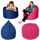 Cotton Beanbag Removeable Cover Childrens Bean Bag Seat Med/Large Kids Chair