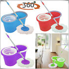 SUPER SPIN MOPS 360° SPINNING MOP BUCKET SET HOME CLEANING CLEANER HOME TILES UK
