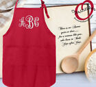 Monogrammed Personalized Apron embroidered apron for chef,cook,baker,mothers day