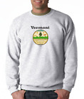 Gildan Long Sleeve T-shirt USA State Seal Vermont Big