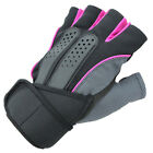 Unisex Sports Training Exercise Weight Lifting Fitness Half Gloves US Location