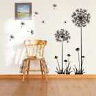Dandelion Flowers 3D Wall Stickers Vinyl Art Mural Decal Stamping-ground Living Room Decor
