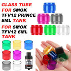 Replacement Pyrex Glass Tank Tube Extended Bubble 6ml/8ml for SMOK TFV12/ Prince
