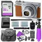 Canon PowerShot G9 X Mark II Digital Camera Silver + Accessory Bundle