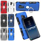 For Samsung Galaxy S9 Plus/Note 8 Shockproof Hybrid Ring Holder Stand Case Cover