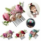 Beautiful Flower Hair Comb Floral Leaves Pearl Hair Clip Photography Hairpin