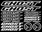 Ghost Vinyl Decals Stickers Sheet Bike Frame Cycle Cycling Bicycle Mtb Road BMX