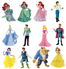 Official Bullyland Disney Princess Prince Figures Toys Cake Topper Toppers