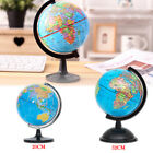 Earth Globe 20Ccm 32cm Atlas World Map Earth Rotating Ball Geography Toy UK NEW