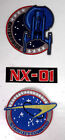 Star Trek Enterprise TV Series NX-01 Uniform Embroidered Patches-Mailed from USA on eBay