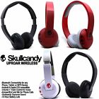 Consumer Electronics - Skullcandy Uproar Wireless Bluetooth Headphones with Mic Black White Red NEW