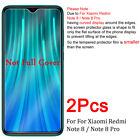 2X Tempered Glass Screen Protector For XiaoMi Redmi 7 7A 6A 6 5 Note 7 6 5 8 Pro