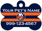 New York Islanders Custom Pet Id Dog Tag Personalized w/ Name & Number $11.67 USD on eBay