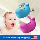 Bath Spout Cover Baby Bath Tub Faucet Silicone Safe Extender Protector Sea Lions