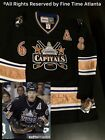 NEW Jaromir Jagr Washington Capitals 2001 2003 Mens Black CCM Vintage