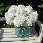 Uk Artificial Silk Flowers Hydrangea Wedding Bridal Centerpiece Room Office Deco