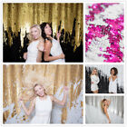 4x8ft Double Color Reversible Sequin photography backdrop for Weddiing Party