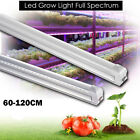Led Grow Light Full Spectrum T8 Integrated 600-1200MM Tube Lamp for Indoor Plant