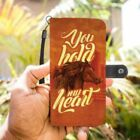 Beautiful Horse You Hold My Heart Phone Case Wallet Love
