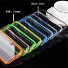NEW Ultra Clear Hard Back Cover Soft Silicone Bumper Case For iPhone 7/7+ & 8/8+