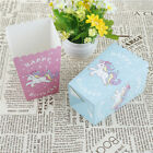 happy birthday boxes - 10pcs Unicorn Popcorn Boxes Happy Birthday Party Candy Box for kids Gifts