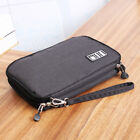 Travel Storage Bag Headset USB Cable Phone iPad Air Gadget Organizer Pouch