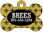 New Orleans Saints Custom Pet Id Dog Tag Personalized w/ Name & Number $11.67 USD on eBay
