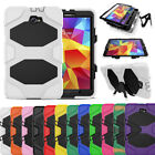 Case Cover For Samsung Galaxy Tab A Military Screen Protector Tough Skin Luxury