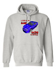 Hoodie Pullover Sweatshirt Life's A Game Racing Is Serious Race Car Cars