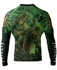 Raven Fightwear Men's Horsemen of the Apocalypse Death Samurai Rash Guard