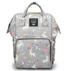 LAND-QUEEN Mummy Maternity Nappy Diaper Bag Large Capacity Baby Casual Backpack
