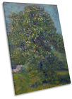 Vincent Van Gogh Chestnut Tree in Blossom CANVAS WALL ART Portrait Print