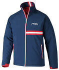 Stiga Winter Jacket Elegant Navy/Red/White - Table Tennis