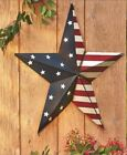 Patriotic Stars and Stripes Barn Star Wall Art American Flag Americana Door Deco