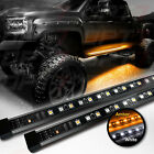 """OPT7 48-60"""" Side Running Board LED Light Strips - Amber Turn Signal DRL Courtesy"""