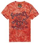 SUPERDRY. MOTOR CITY T-Shirt, rot