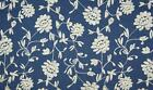 Chambrai CLOONEY Embroidered Cotton Denim Fabric Material - Ecru