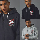 Ecko Unltd Millbrook Full Zip Hoody Style Gym Sport Drawstring Hood Fleece