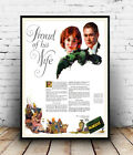Proud of his wife : Vintage advertising, poster, Wall art, poster, reproduction.
