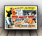 Rock Pretty baby : Vintage movie , poster, Wall art, poster, reproduction.