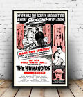 The Humanoids : Vintage movie advert, poster, Wall art, poster, reproduction.
