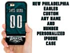 PHILADELPHIA EAGLES CUSTOM CASE FOR IPHONE XS 11 PRO MAX XR 4 5C 6 7 8 PLUS $15.94 USD on eBay