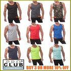 PRO CLUB TANK TOP MENS SLEEVELESS MUSCLE SHIRT PROCLUB PLAIN CAMO T SHIRTS S 5XL