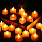 Flameless Tea Lights Flickering LED Candles Battery Operated for Wedding Party